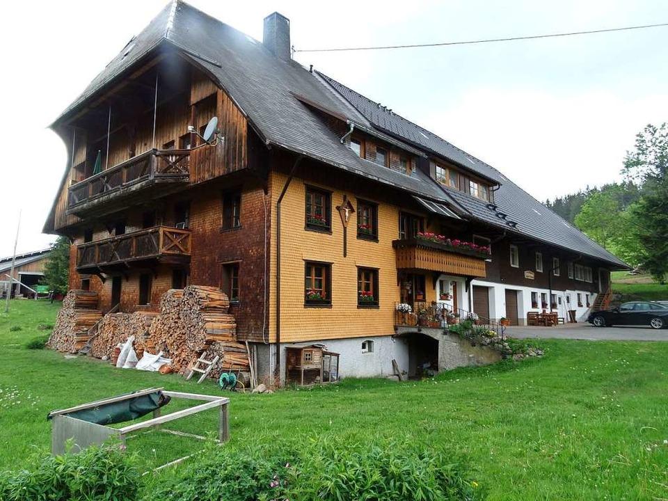 Auch der Grießbachhof im Jostal bietet Urlaub auf dem Bauernhof an.    Foto: Silas Schwab