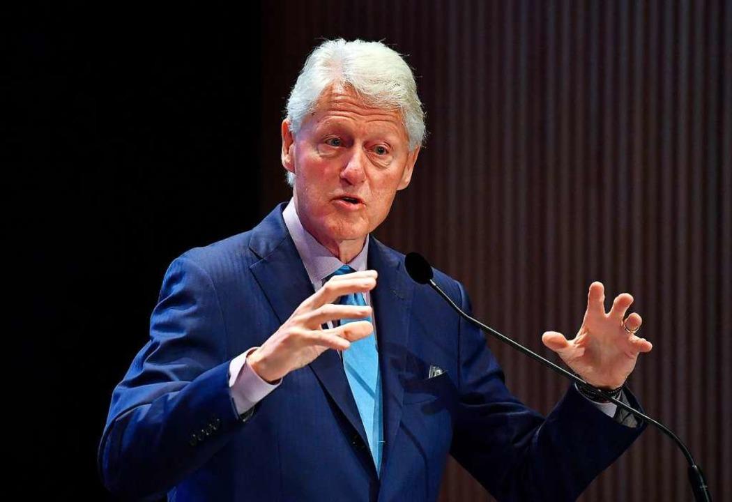 Ex-US-Präsident Bill Clinton  | Foto: ANGELA WEISS (AFP)