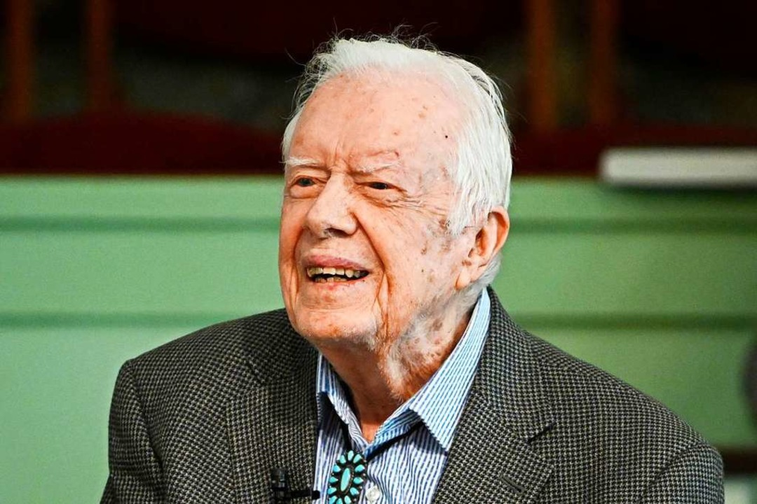 Ex-US -Präsident Jimmy Carter  | Foto: John Amis (dpa)