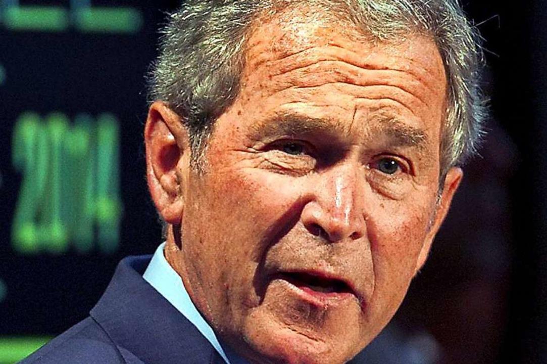 Ex-US-Präsident George W. Bush  | Foto: Ricardo B. Brazziell, Pool