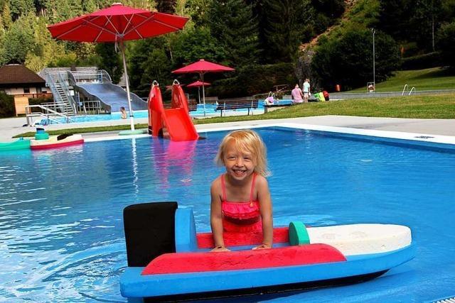 Das Freibad Todtnau ist ein Paradies für Wasserratten und Sonnenanbeter