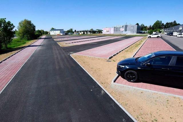 In Denzlingen gibt es 137 neue Parkplätze – doch für wen?