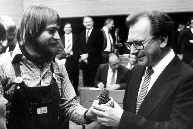 Vor 40 Jahren waren die Grünen im Landtag nur die Neulinge mit dem Kaktus