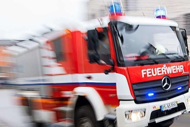 Feuerwehreinsatz nach Heizungsdefekt in Todtmoos-Au