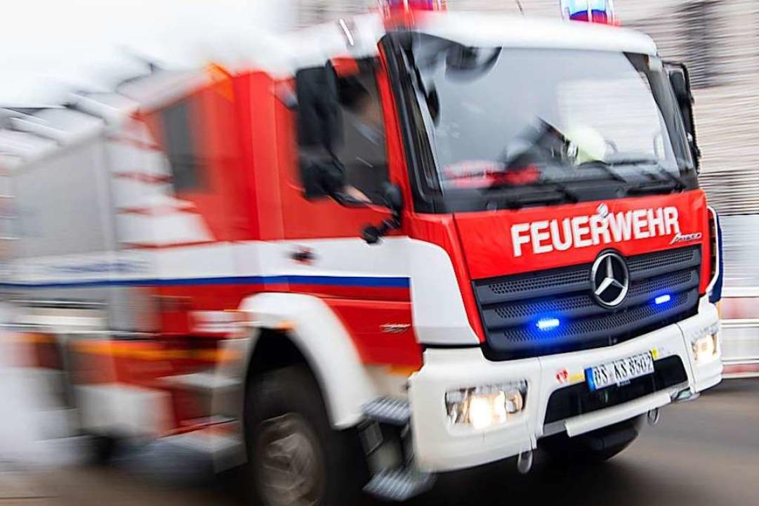 Polizei, Feuerwehr und DRK waren in Todtmoos vor Ort (Symbolbild).    Foto: Julian Stratenschulte (dpa)