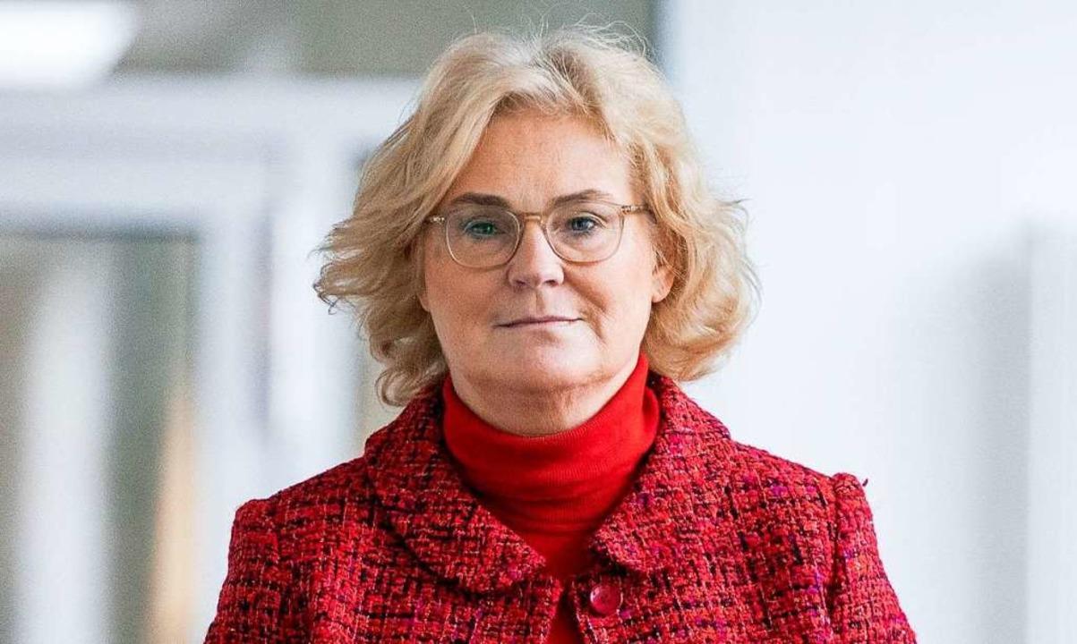 Christine Lambrecht    Foto: Kay Nietfeld (dpa)