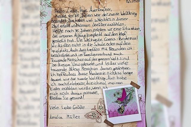 Briefe nach New York