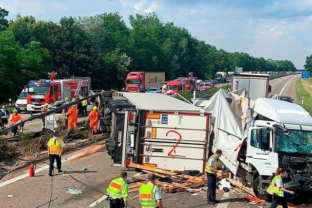 Gesperrte A5 löst in Neuenburg-Zienken Verkehrschaos aus