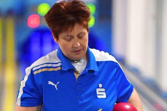 Katja Francz ist seit vielen Jahren Leistungsträgerin beim Kegelclub Waldkirch