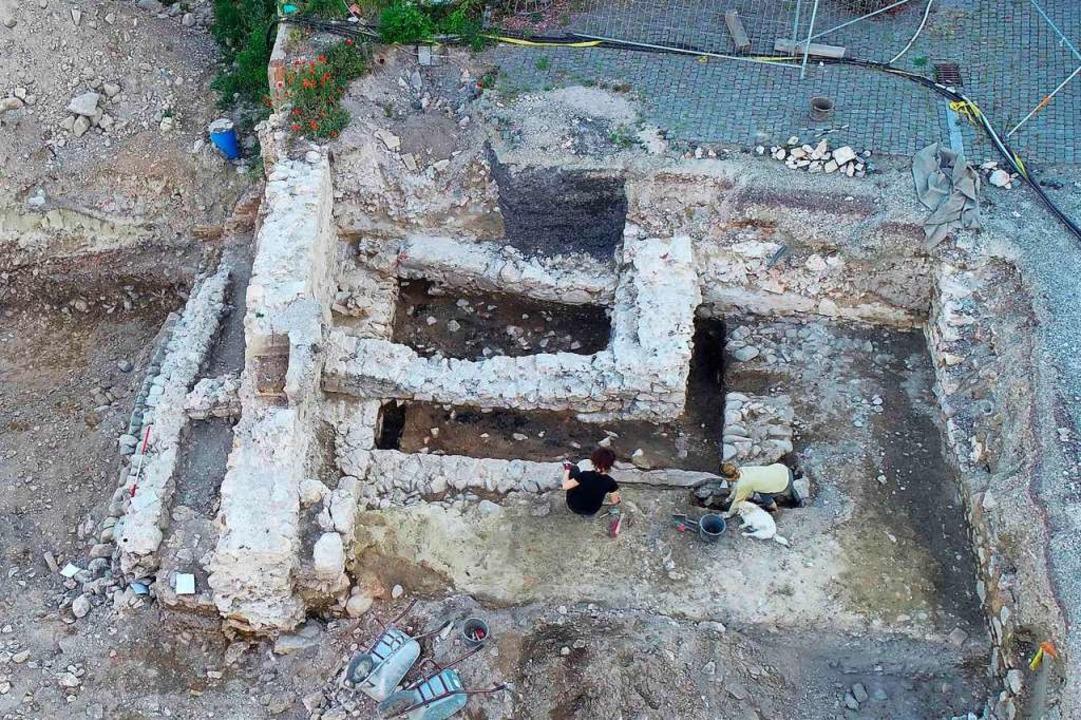 Reste der mittelalterlichen Ortsburg  | Foto: Archbau