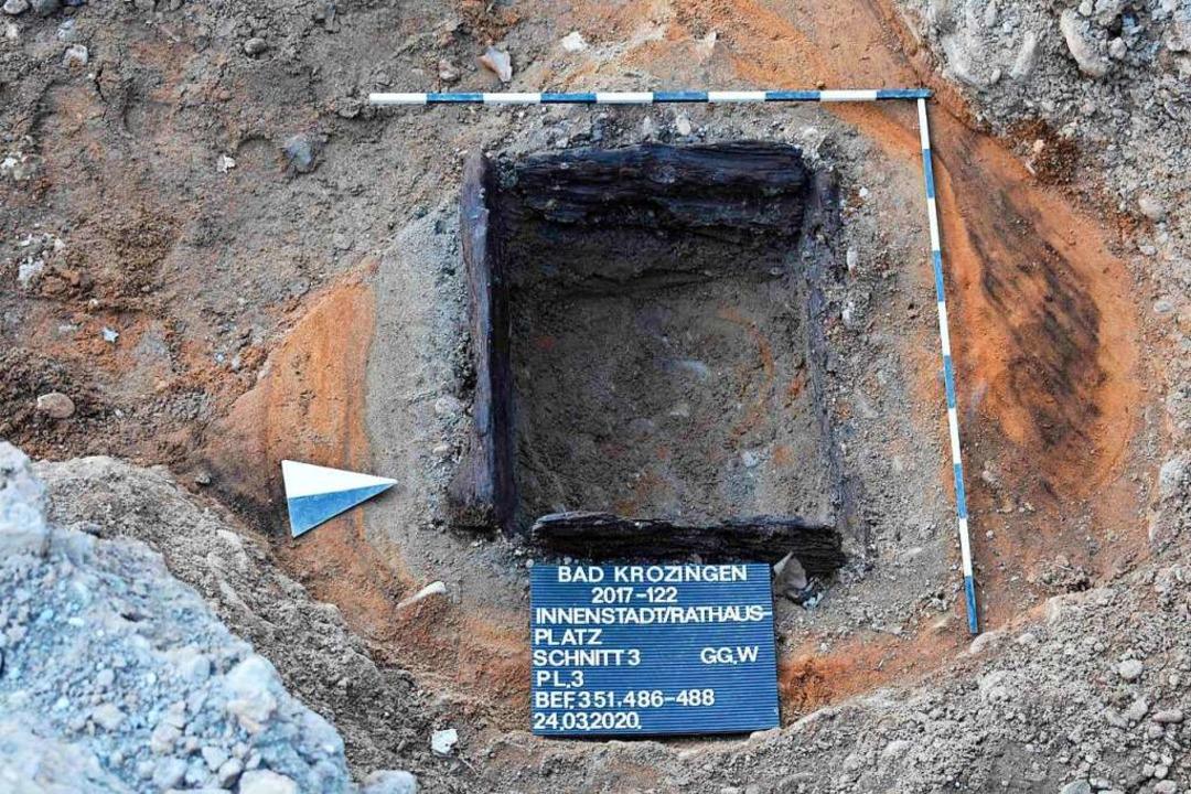 Einer römischen Brunnen  | Foto: Landesamt für Denkmalpflege im Regierungspräsidium Stuttgart