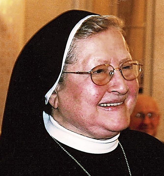 Schwester Gebharda   | Foto: privat