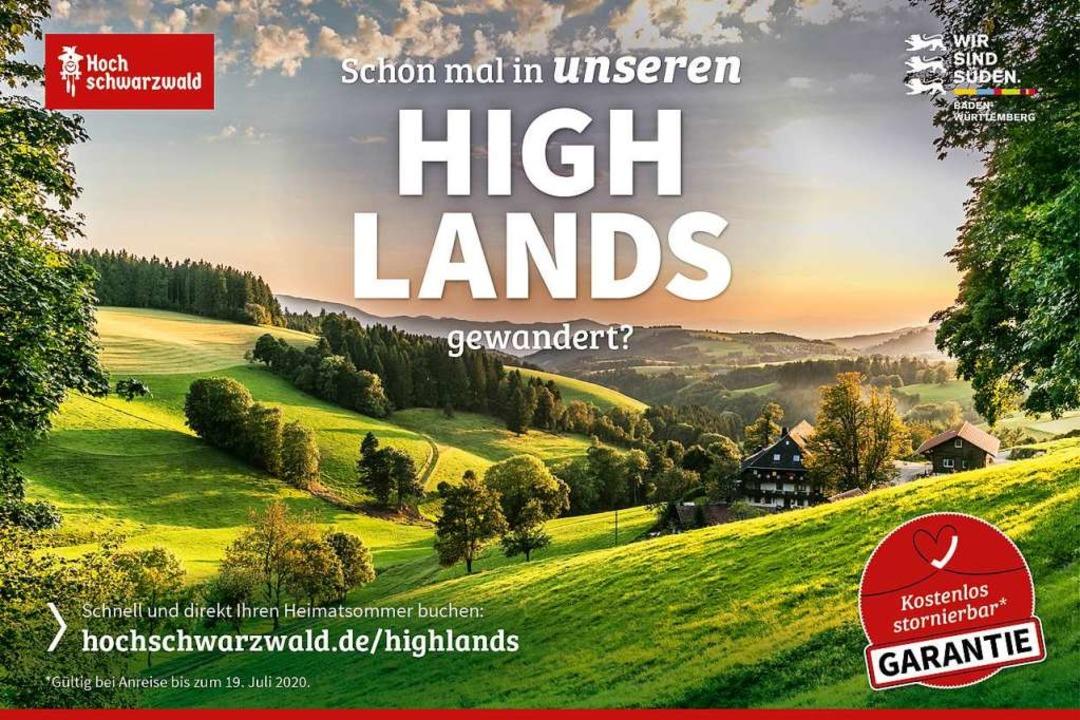 Unter anderem mit  Hochschwarzwälder H... Re-Start des Tourismus in der Region.  | Foto: HTG