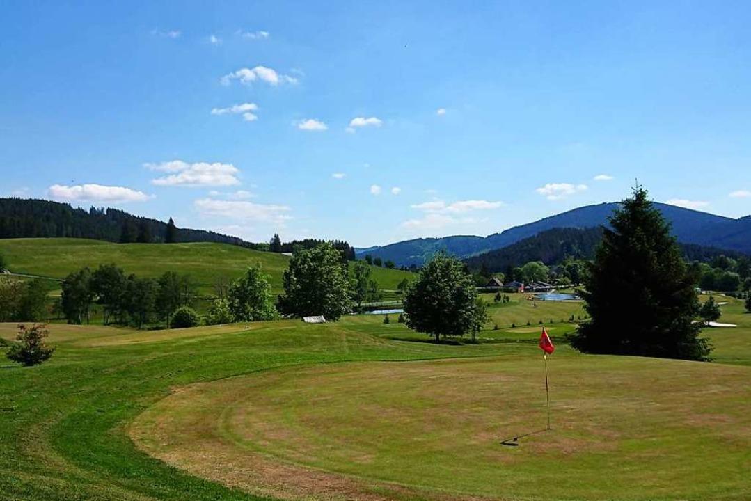 Nördlich von Titisee liegt die großzügige Anlage des Golfclubs Hochschwarzwald.  | Foto: Andreas Strepenick