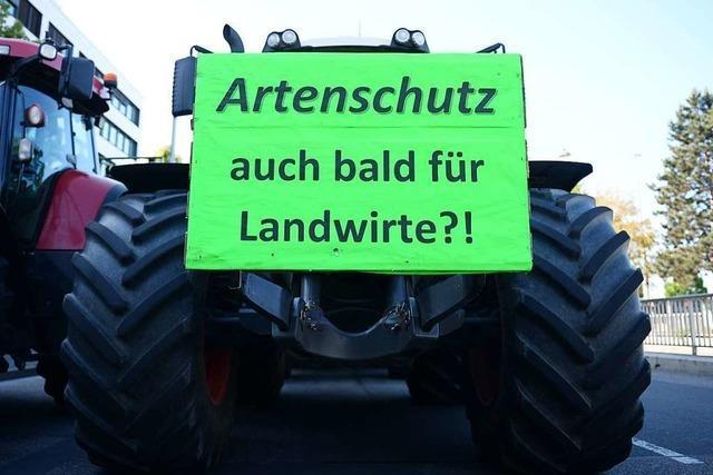 Südbadische Landwirte fordern Augenmaß bei Auflagen