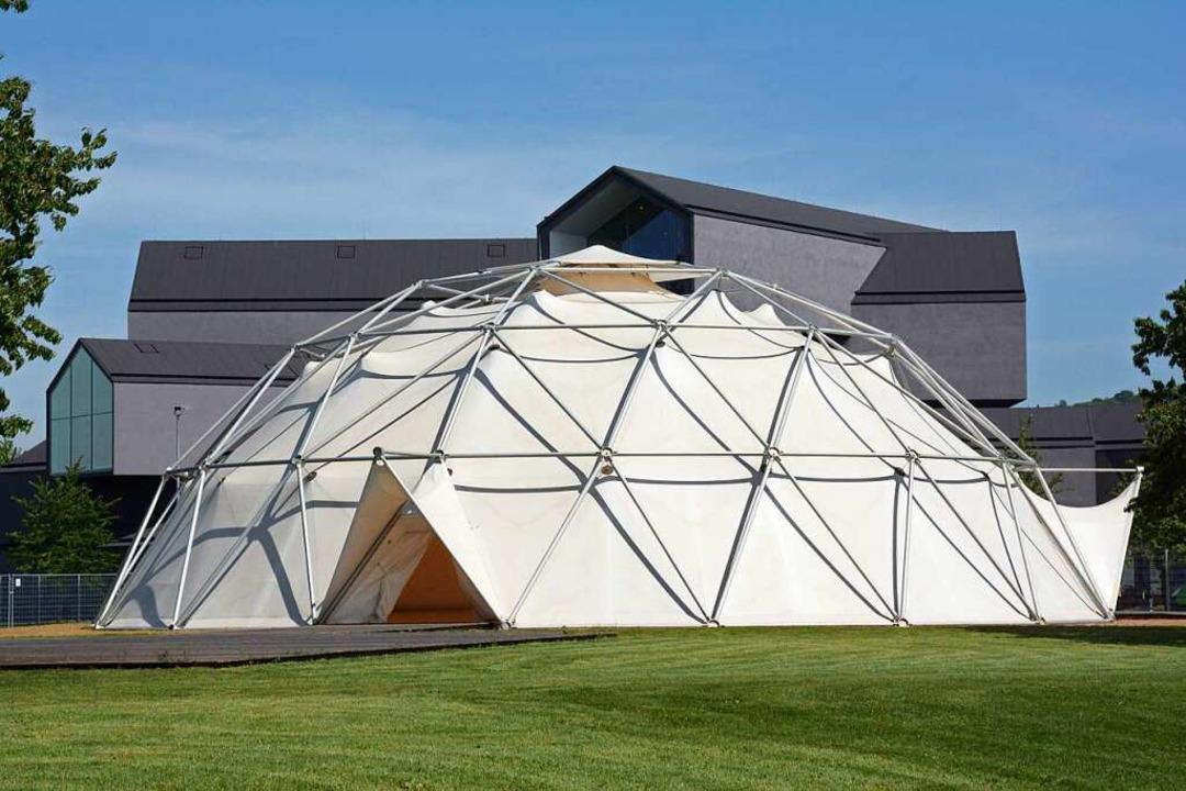 Hier im Buckminster Fuller Dome des Vi...ollen, die nun verschoben werden muss.    Foto: Hannes Lauber