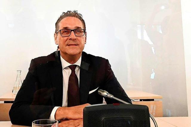Ex-Vizekanzler Strache will nie Geld für Posten angenommen haben