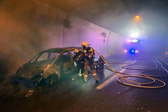 Brand im Bözbergtunnel geht glimpflich aus