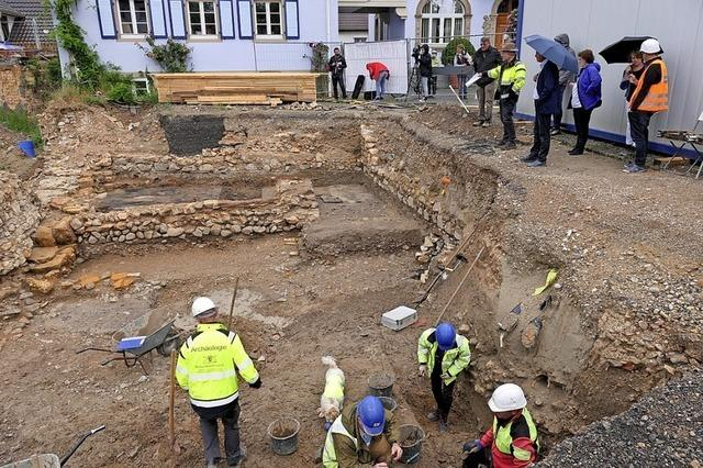 Mittelalter-Burg gefunden