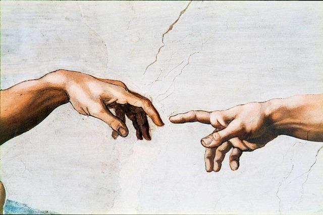 Gott sinniert mit einem Anflug Selbstzweifels über seine Schöpfung