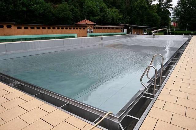 Die Schwimmer im Südlichen Breisgau brauchen noch Geduld