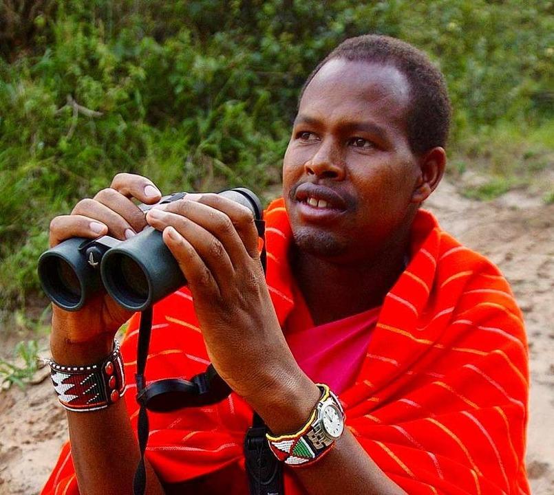 Jackson Looseya ist einer der bekanntesten Safari-Guides in Kenia.  | Foto: Bush and  Beyond