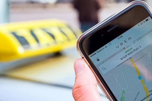 Das Ziel ist freie Fahrt für Uber & Co.