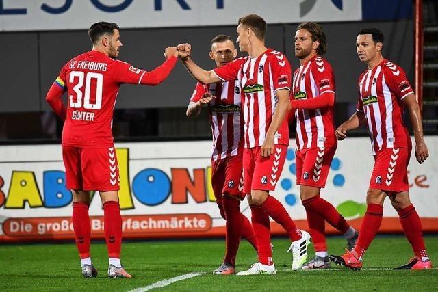 Beim 1:0-Heimsieg gegen Gladbach geht der Freiburger Matchplan auf