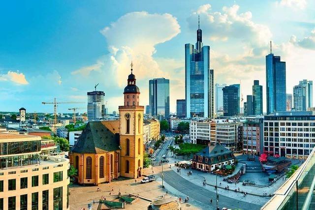 Frankfurt – Stadt der Kontraste