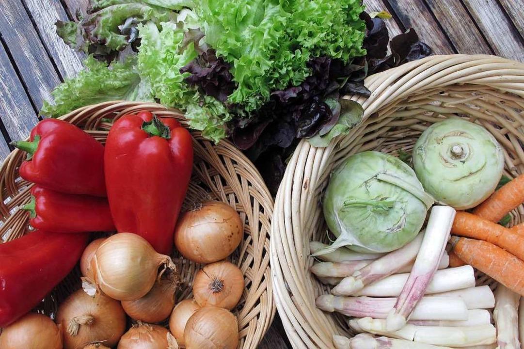 Obst und Gemüse aus der Region  auf ei...zusätzliche Angebote erweitert werden.    Foto: Jutta Schütz