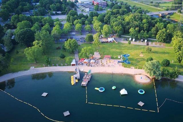 Bis zu 800 Gäste dürfen täglich ins Strandbad am Gifizsee