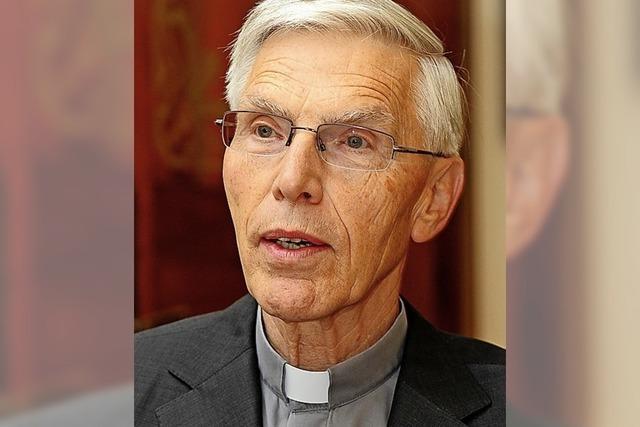 Weihbischof Wehrle feiert 80. Geburtstag