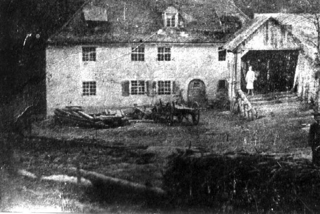 Ein Unwetter sorgte 1895 bei Löffingen für fürchterliche Schäden