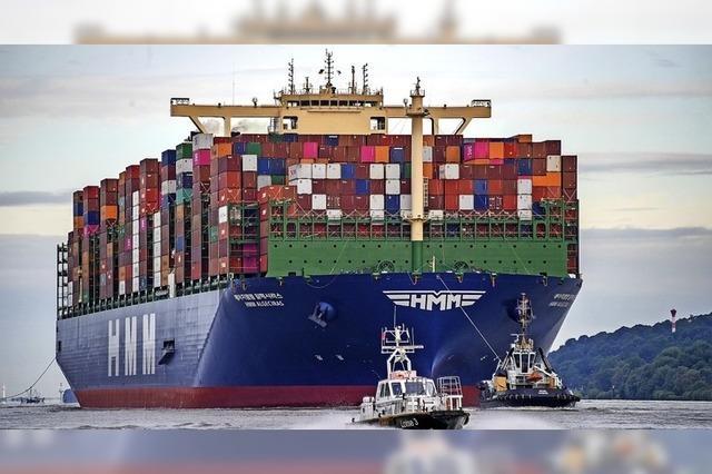 Kein Containerschiff ist größer