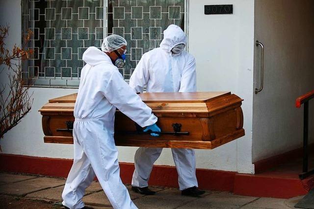Johns-Hopkins-Universität: Mehr als 400.000 Menschen an Covid-19 gestorben