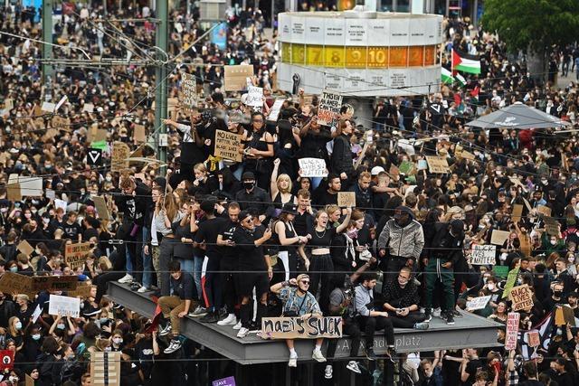Massenproteste gegen Rassismus in Deutschland