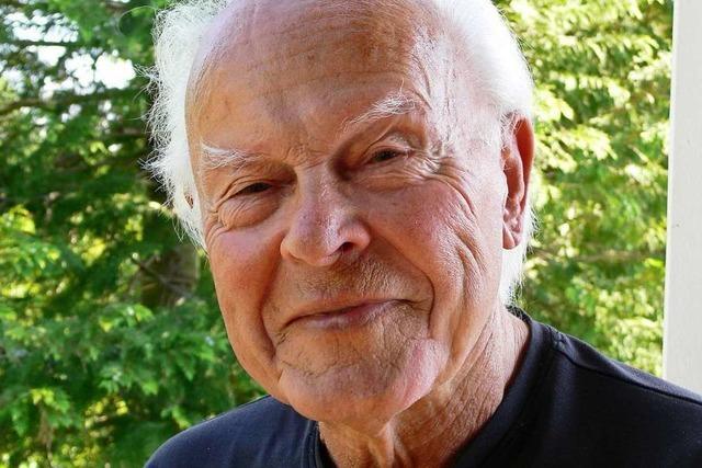 Der frühere Stadtbaumeister Werner Balkow: