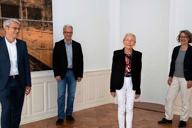 Mechthild Fischer, die gute Seele des Markgräfler Museums, verabschiedet sich