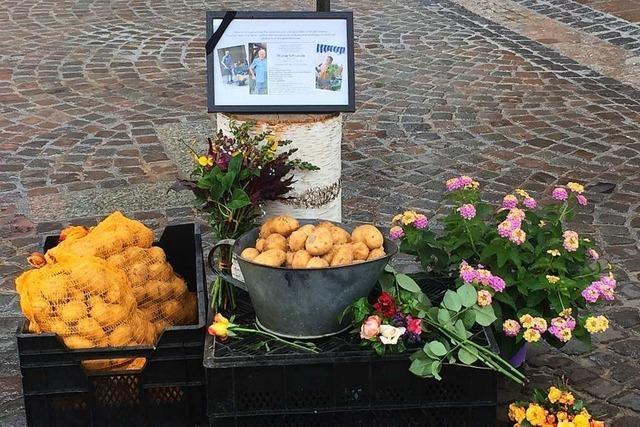 Eine Institution auf dem Wochenmarkt: Martin Schwärzle ist gestorben
