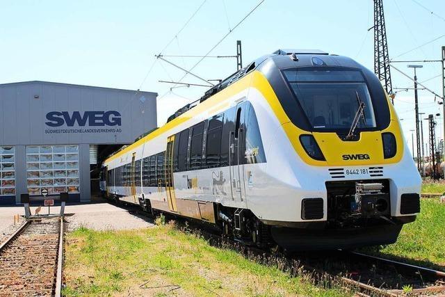 Ins Münstertal fahren bald neue Züge - Monate später als geplant