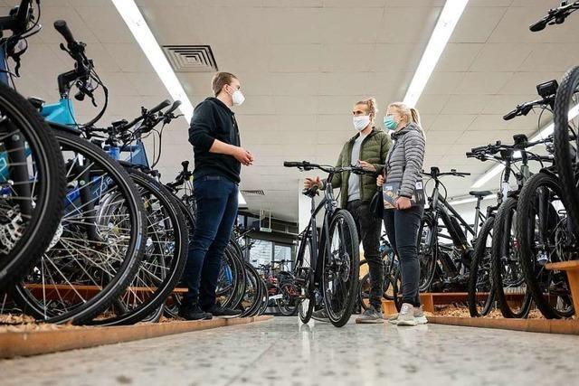 Die Fahrradbranche ist einer der Gewinner der Krise