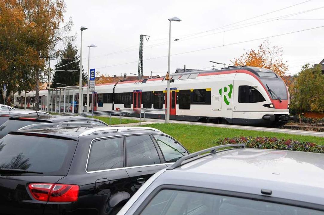 Der Kanton Basel-Stadt unterstützt Pen...nsteigen und weiter nach Basel fahren.    Foto: Robert Bergmann