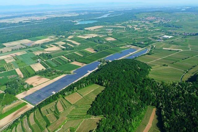 Vogtsburger Solarpark lieferte 2019 über 8,2 Millionen Kilowattstunden Strom