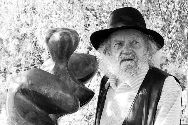 Der Lörracher Bildhauer Rudolf Scheurer ist gestorben