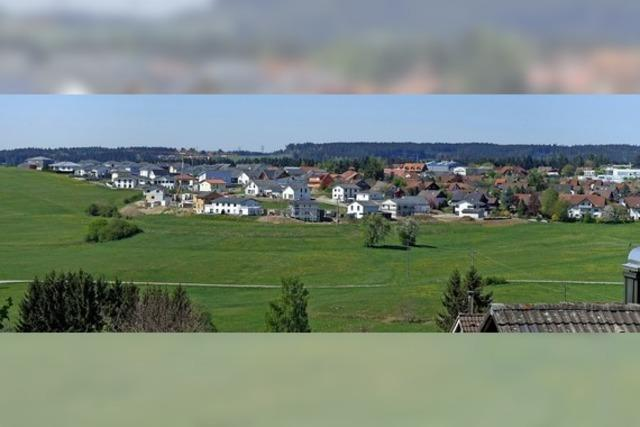 Bonndorf wächst auf der Fläche
