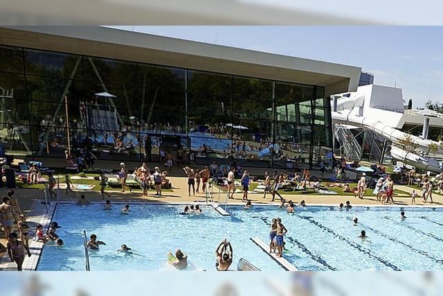 Freizeitbad öffnet an Fronleichnam für zunächst 350 Gäste