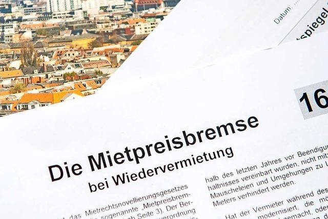 Grenzach-Wyhlens Bürgermeister äußert Zweifel zur Mietpreisbremse
