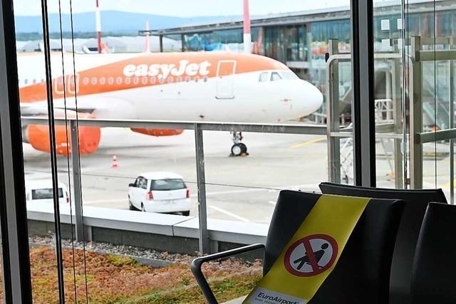 Die große Leere: Der Euroairport ist ein Geister-Flughafen
