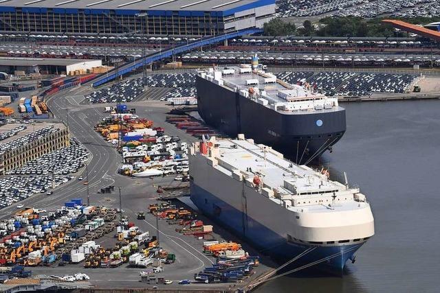 Beispielloser Exporteinbruch von mehr als 30 Prozent in Corona-Krise