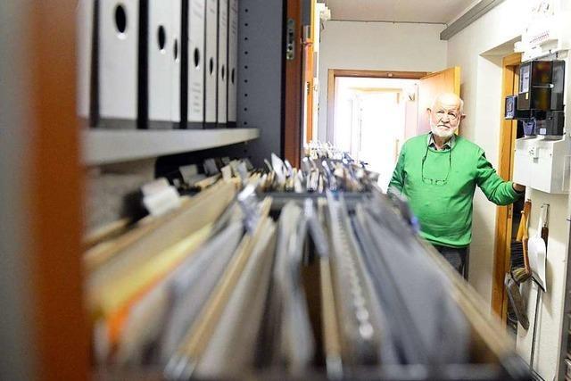Der Lokalgeschichte gehört Volker Scheers große Leidenschaft
